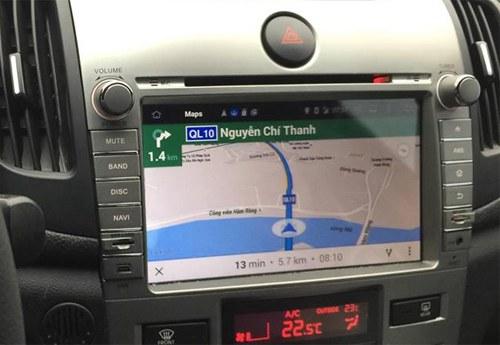 Màn Hình DVD Có Định Vị GPS