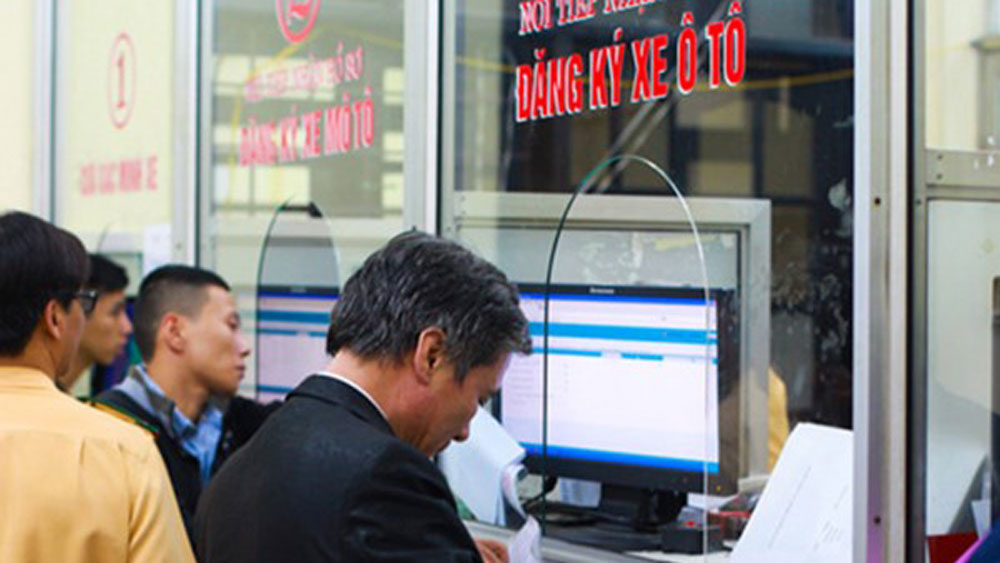 đăng ký xe ô tô cần những giấy tờ gì
